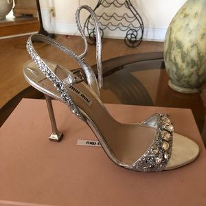 Miu Miu sandal heels